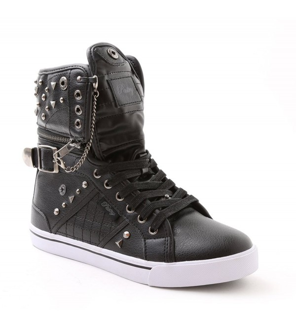 Pastry High Top Sneaker Hardware Detail
