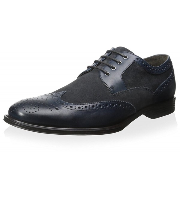 Franklin Freeman Wingtip Medallion Charcoal