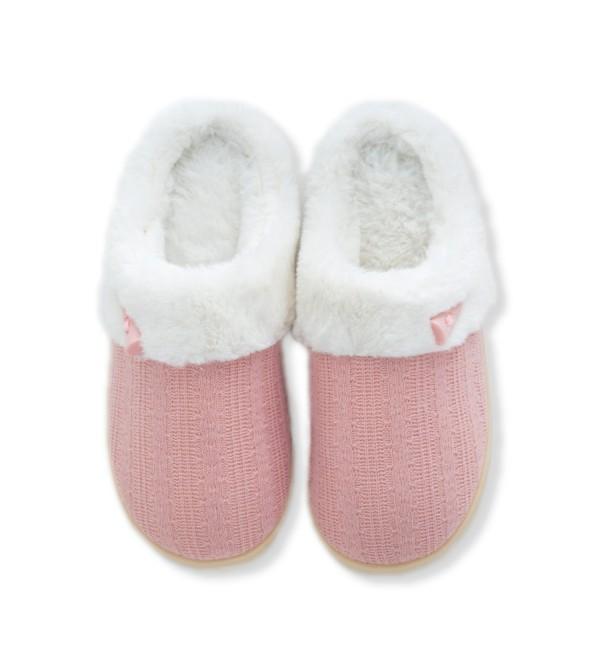Women's Cotton House Slippers Knitted