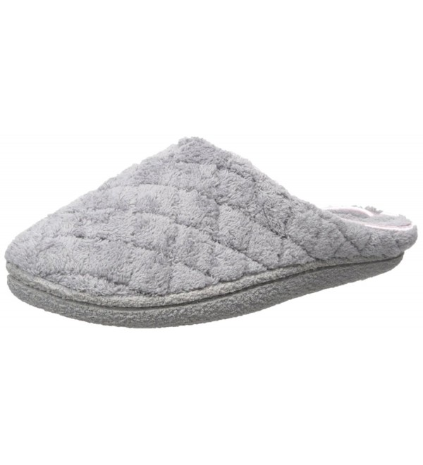 Dearfoams Quilted Terry Clog Slipper