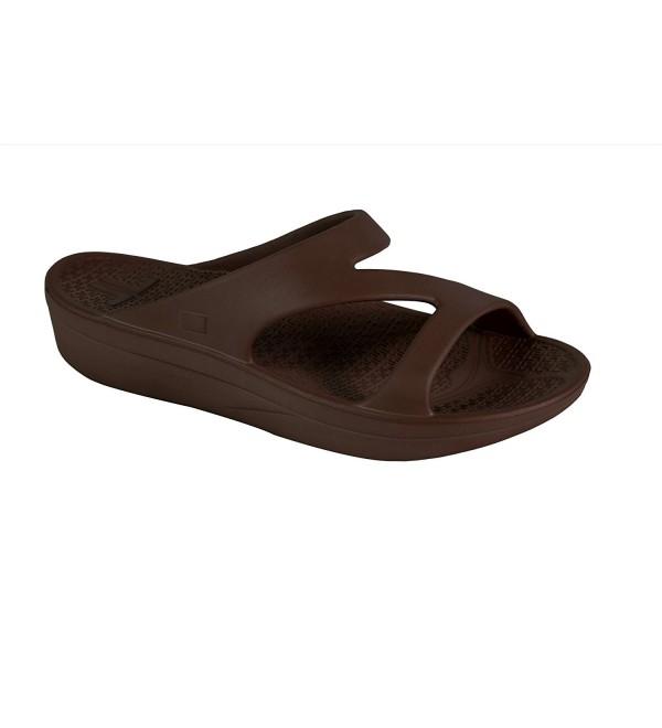Telic Womens Z Strap Sandal Espresso