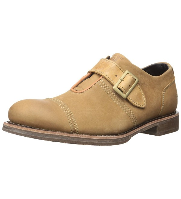 Caterpillar Mens Halsey Oxford Sand