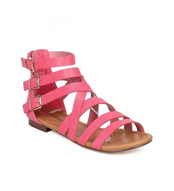 Breckelles Covina 24 Gladiator Strappy Sandals