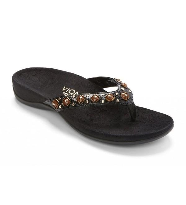 Vionic Womens Floriana Support Black
