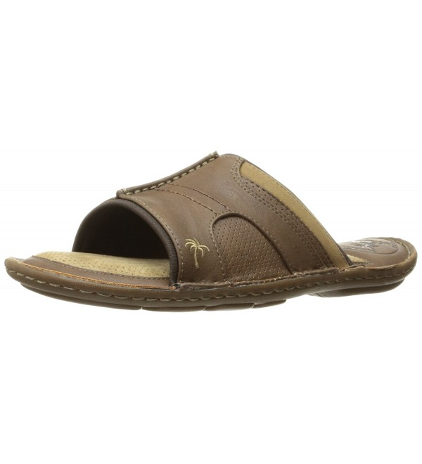 Margaritaville Martin Slide Sandal Brown