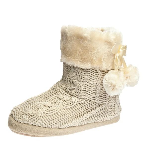 Airee Fairee Slipper Booties Ladies