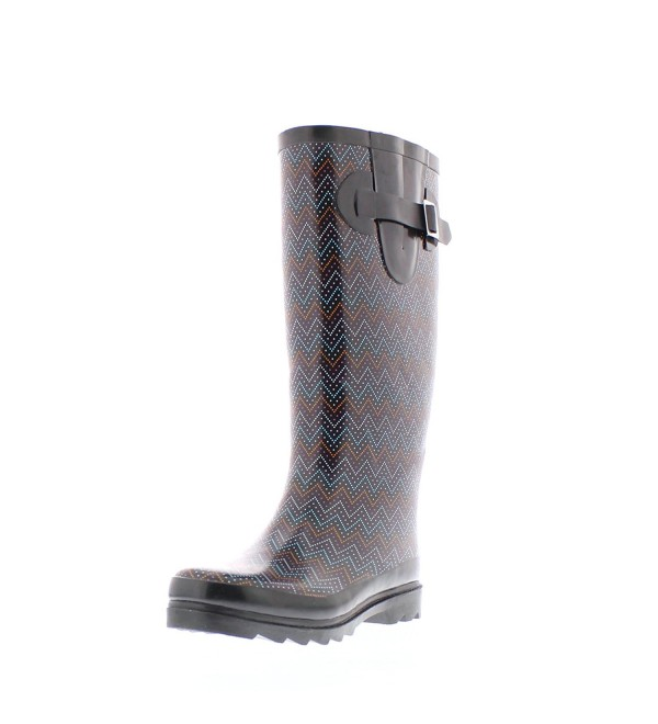 Gold Toe Rainboot Zig Zag