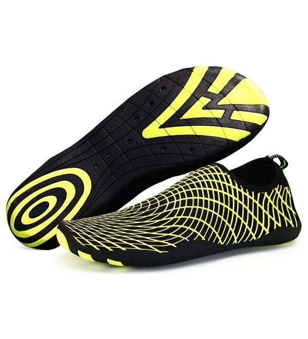 cfea9b32e0 ... Quick Dry Barefoot Skin Shoes Aqua Socks for Beach Swim Surf Dive Yoga  - Green - CW17Z559YCI. On sale! New. WXDZ Women Water Shoes Barefoot