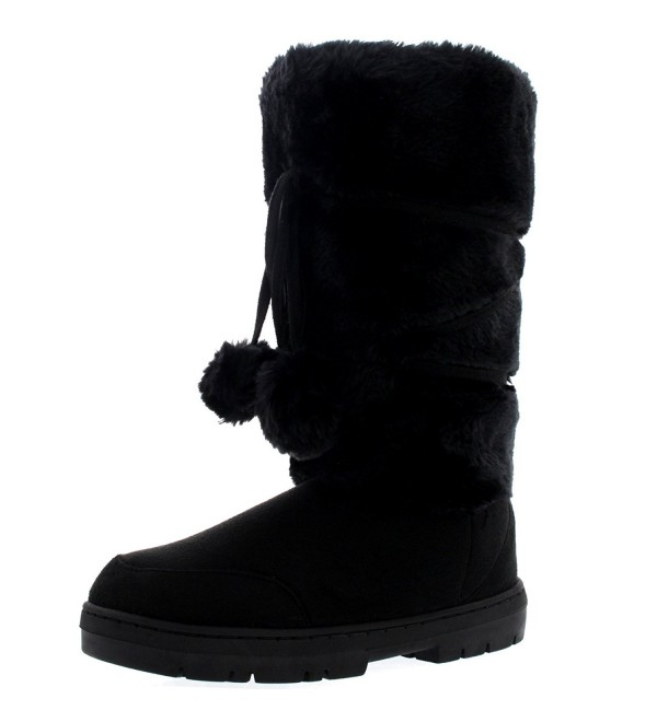 Womens Tall Rain Winter Boots