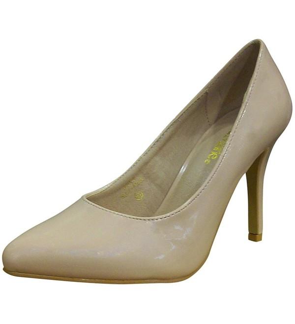 Bella Marie Womens Stiletto Patent
