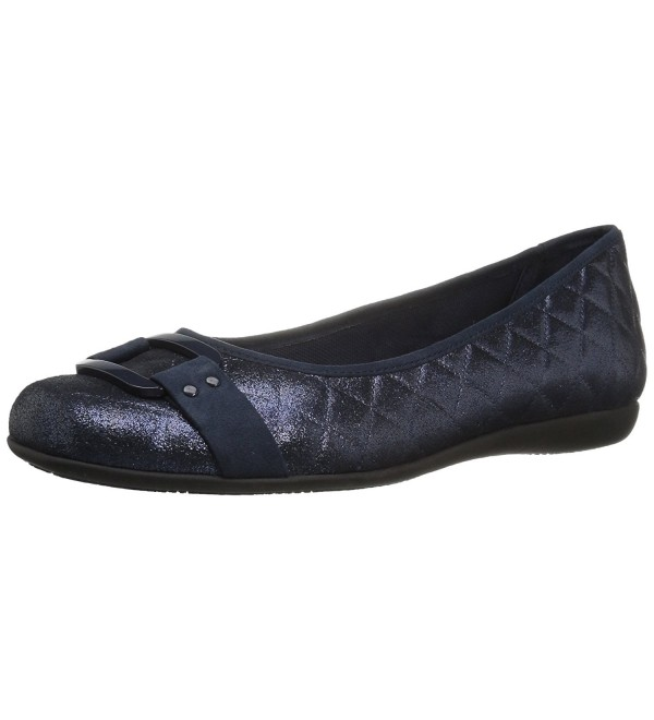 Trotters Womens Sizzle Ballet Flat