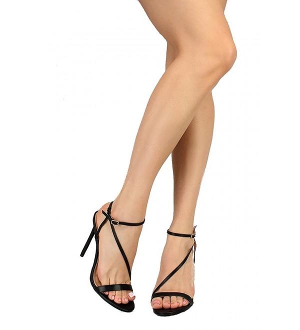 LilianaShoes Womens Irina Stiletto Sandals