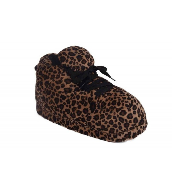 1088 4 Snookis Leopard Snooki Slippers