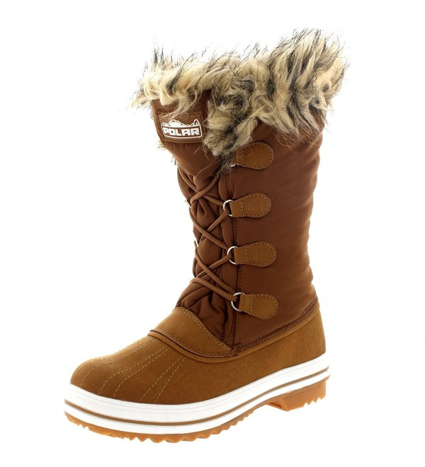 Womens Nylon Outdoor Winter Boots