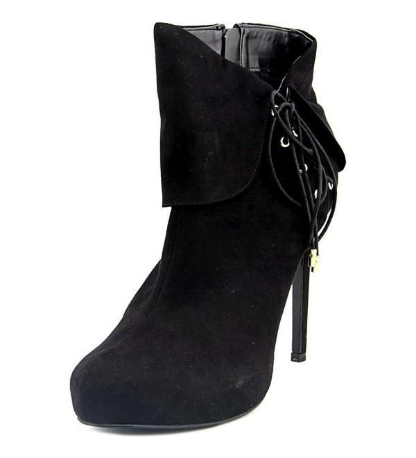 Thalia Womens Ohlivia Lace Up Booties
