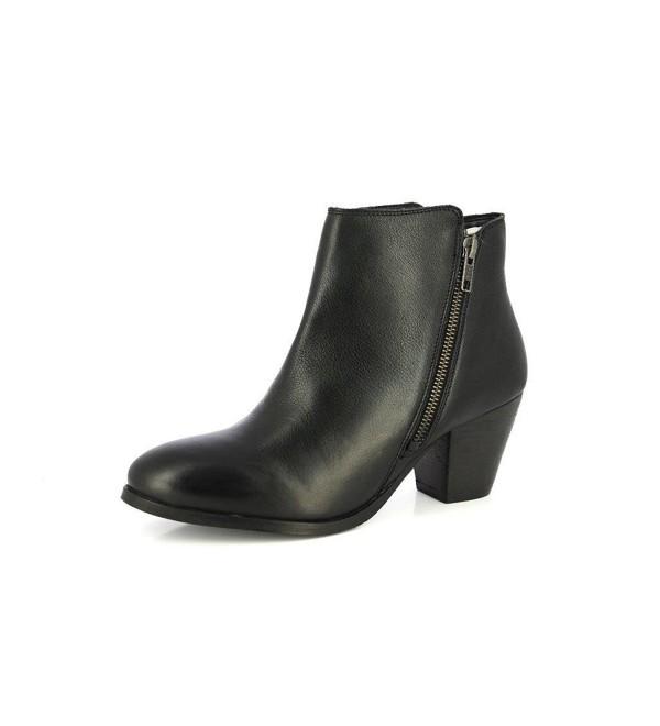 Alberto Torresi Womens Leather Boot Black