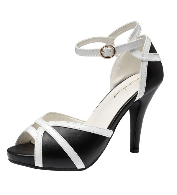 Getmorebeauty Womens White Strappy Sandals