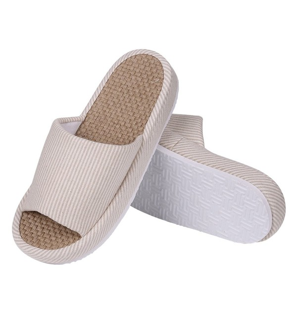 Shevalues Womens Slippers Cotton Support