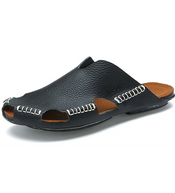 Odema Leather Breathable Fisherman Slippers