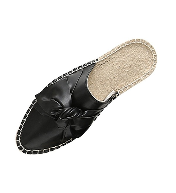 LaRosa Fashion Espadrille Slipper Backless