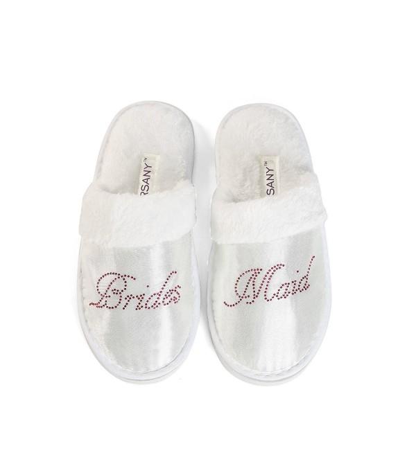 Bridesmaid Slippers Diamante rhinestone slippers