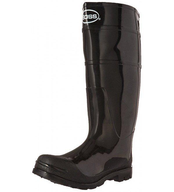 Boss 2KP200110 Black Rubber Boots