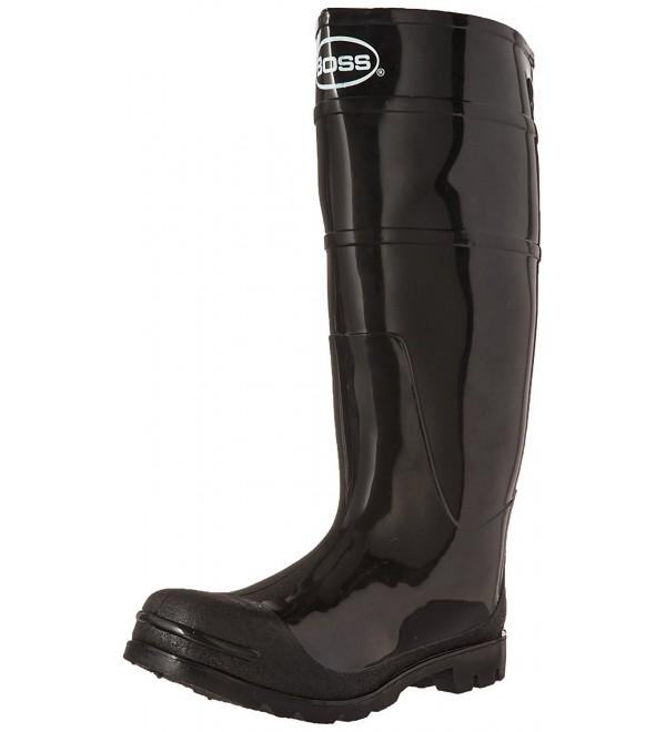 Boss 2KP200110 Black Rubber Boots