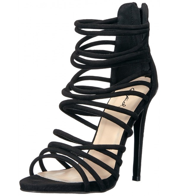 Qupid Womens Glee 292 Dress Sandal