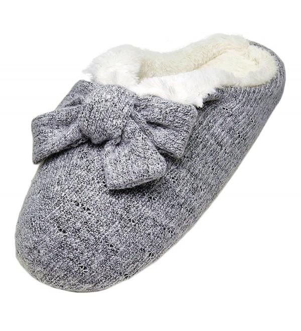 PLAGE Womens Winter Indoor Slippers