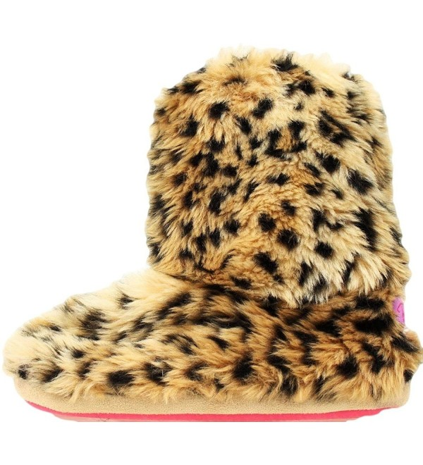 Western Womens Slippers Leopard Slipper