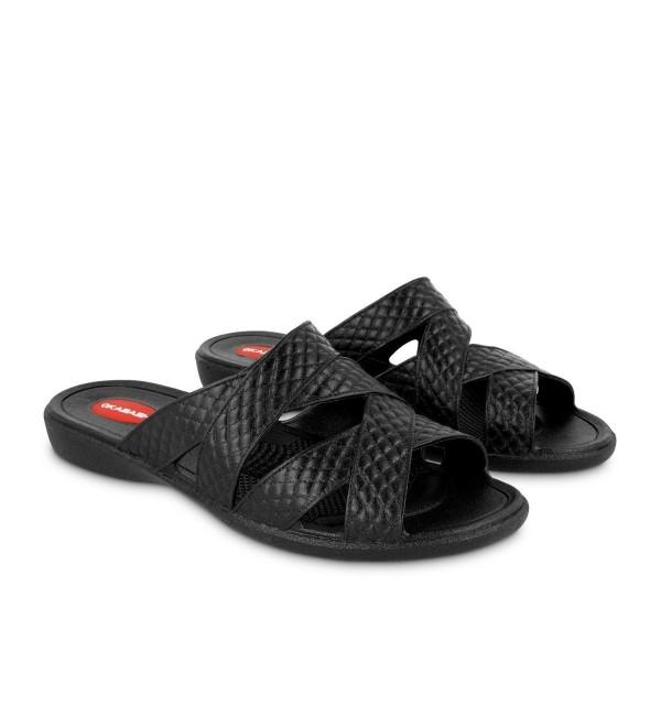 Okabashi Womens Cross strap Sandal Medium