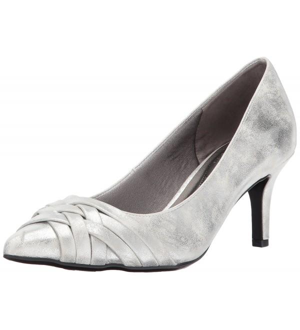 LifeStride Womens Sentiment Dress Silver