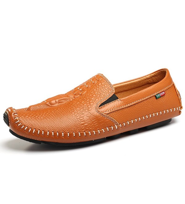 SUNROLAN SLL TC 8501 Saddle Brown 43 Business Moccasins