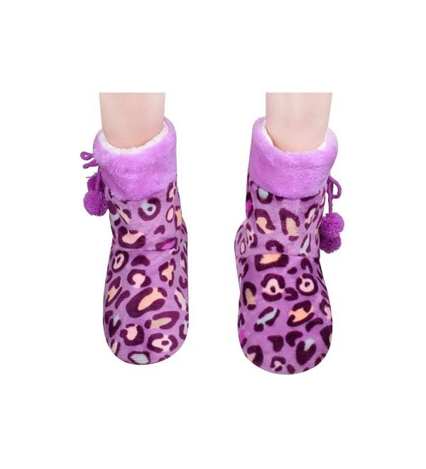 Purple Slipper Slippers Bedroom Size9 11