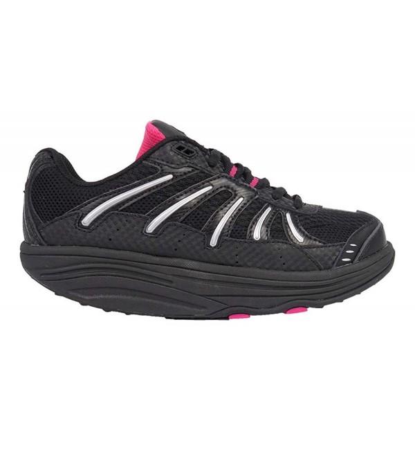 Exersteps Womens Brisa Black Sneakers
