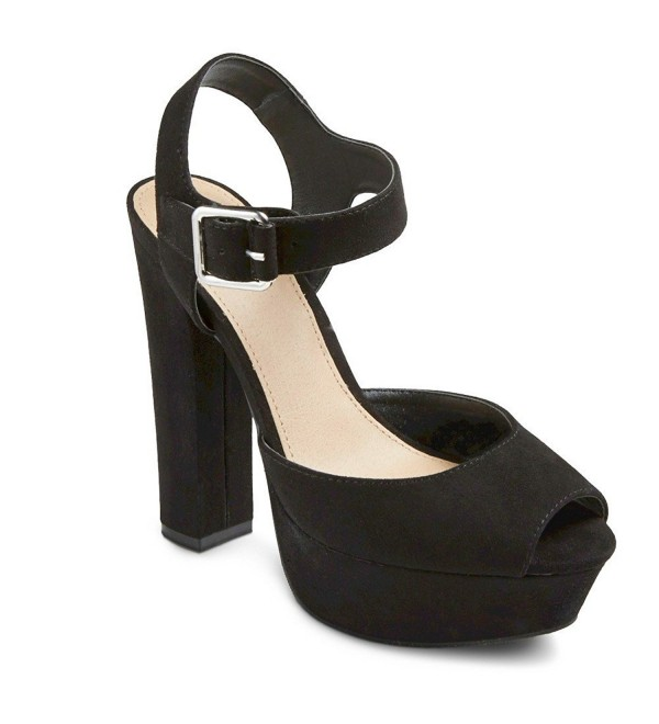 Mossimo Womens Platform Sandal Pumps