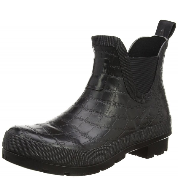 Joules Womens Crockington Rain Black
