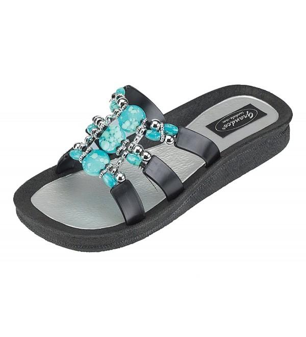 Grandco Women Sandal Denim Slide