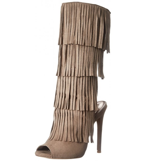 Qupid Womens Glee 168 Western Taupe