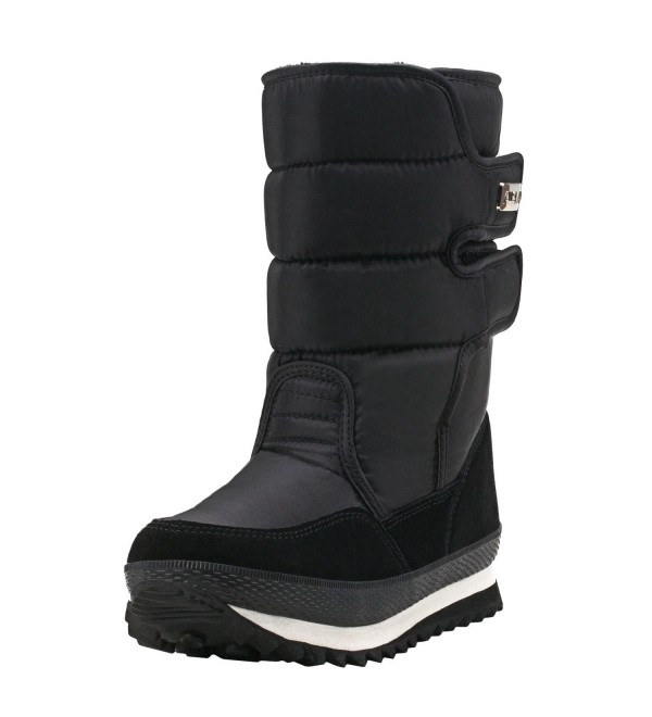 Shenda Mid Calf E1038 Black 8 5US