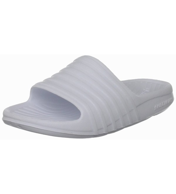 Shore Skechers Slides Cs116yvhqy9 Womens Sandals White DIYbWHeE29