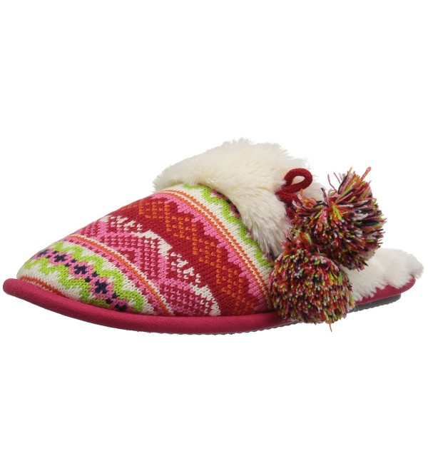 Dearfoams Womens Fairisle Slipper X Large