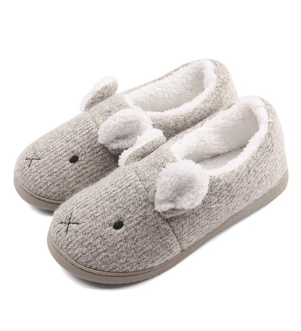 Neeseelily Comfort Slippers Animal Indoor