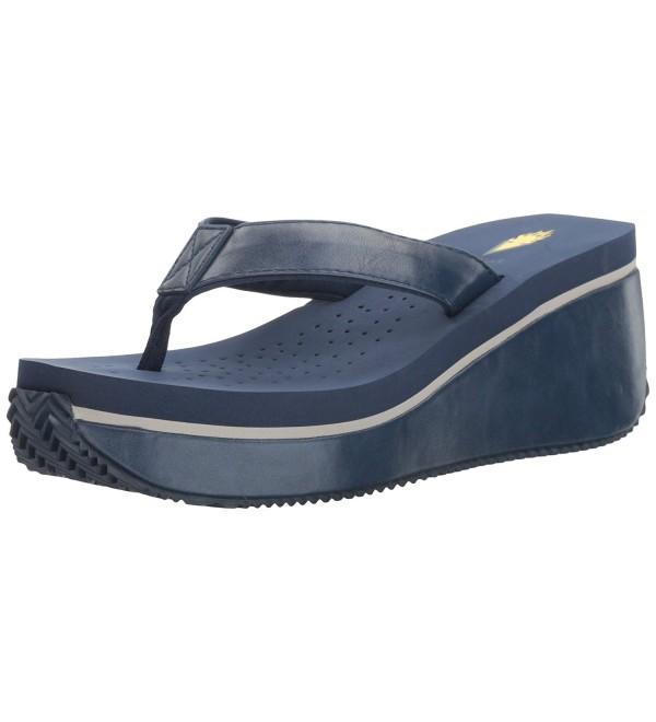 Volatile Womens Frappacino Wedge Sandal