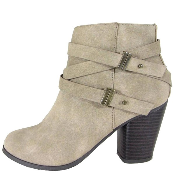 Soda Womens Saddle Stacked Distressed