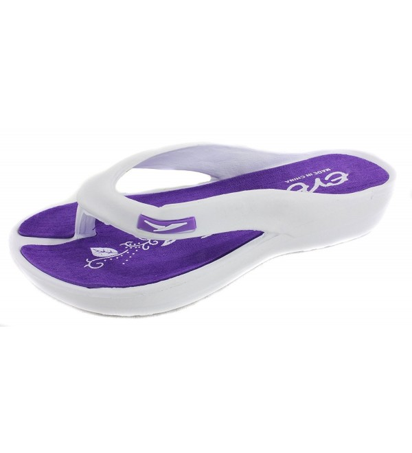 EVE Womens Comfortable Sandals Purple