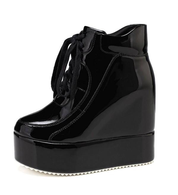 getmorebeauty Womens Platform Sneakers Chelsea