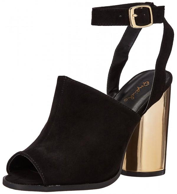 Qupid Womens Bondi 02a Heeled Sandal