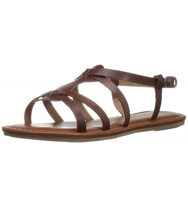 MIA Womens Buttercup Sandal Brown