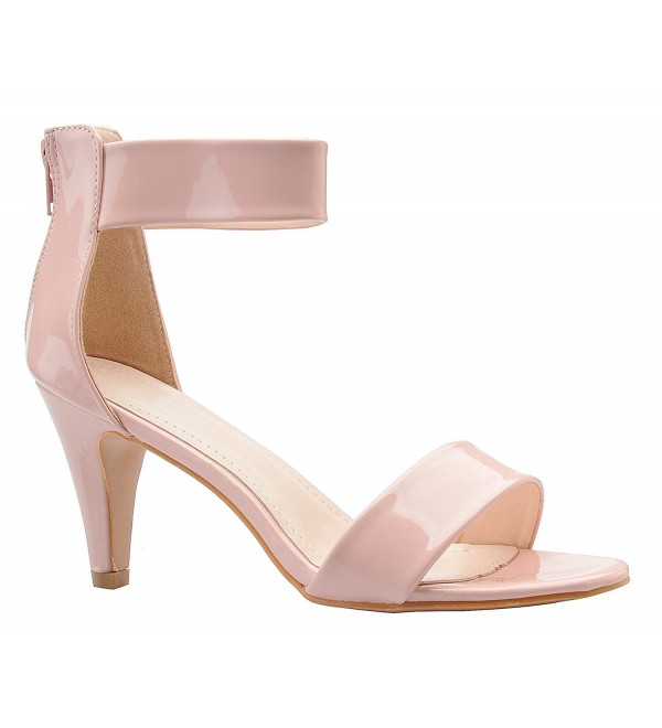 OLIVIA Womens Ankle Strap Sandal